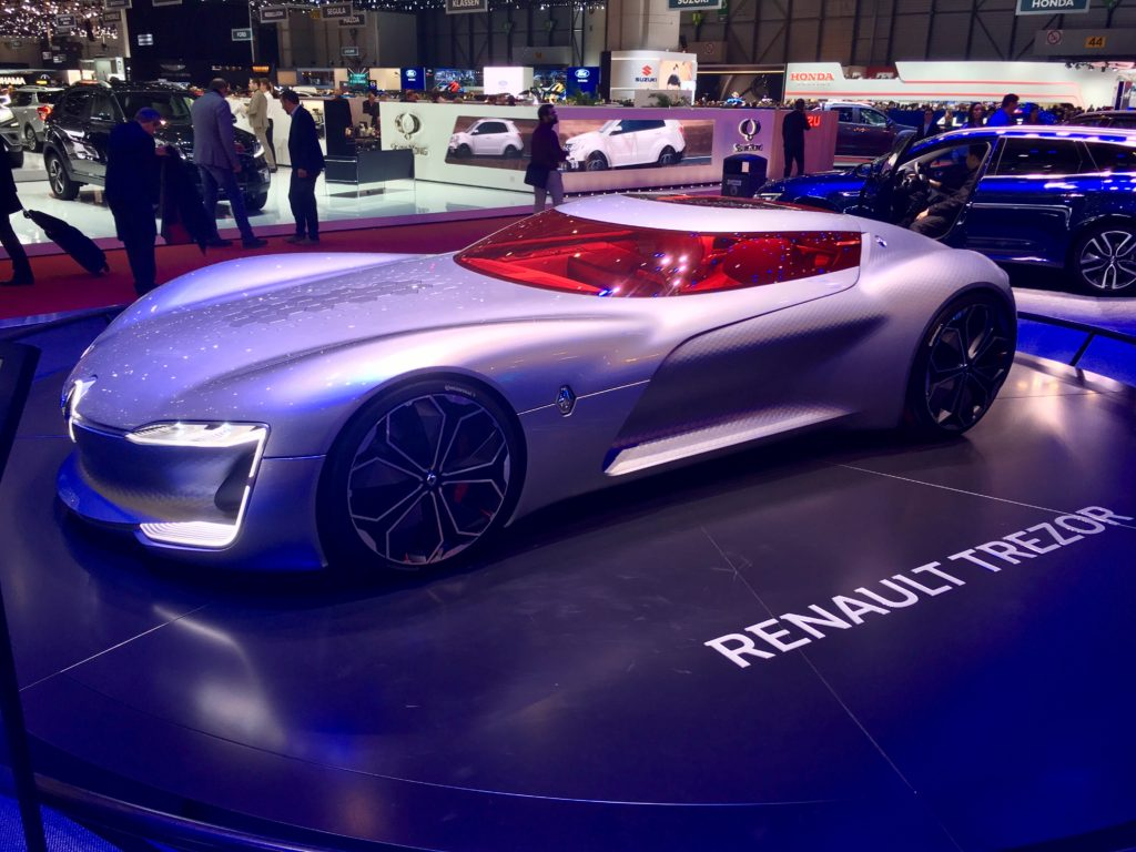 Renault Trezor At Geneva International Motorshow Cest La Vie